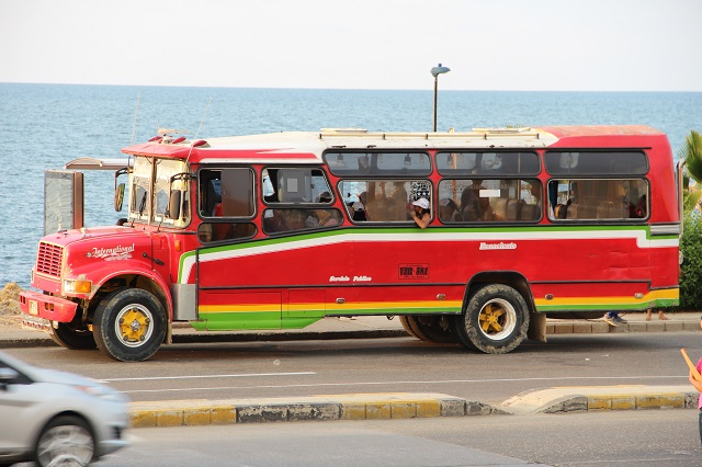 Chiva ônibus de linha