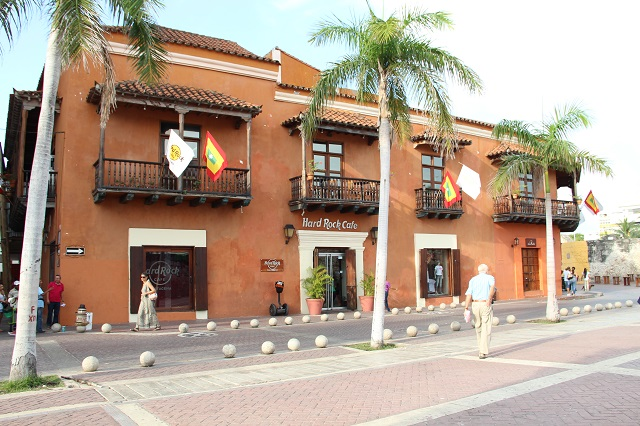 Hard Rock Cafe – centro histórico