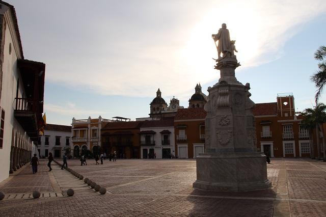 Plaza de La Aduana – centro histórico