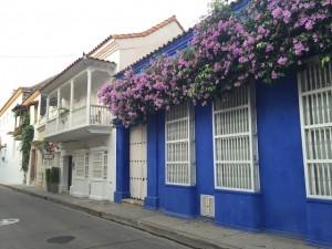 Fachada dos hotéis Cidade Murada - Cartagena
