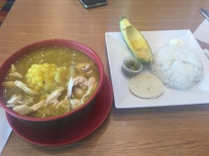 Prato típico colombiano: Ajiaco